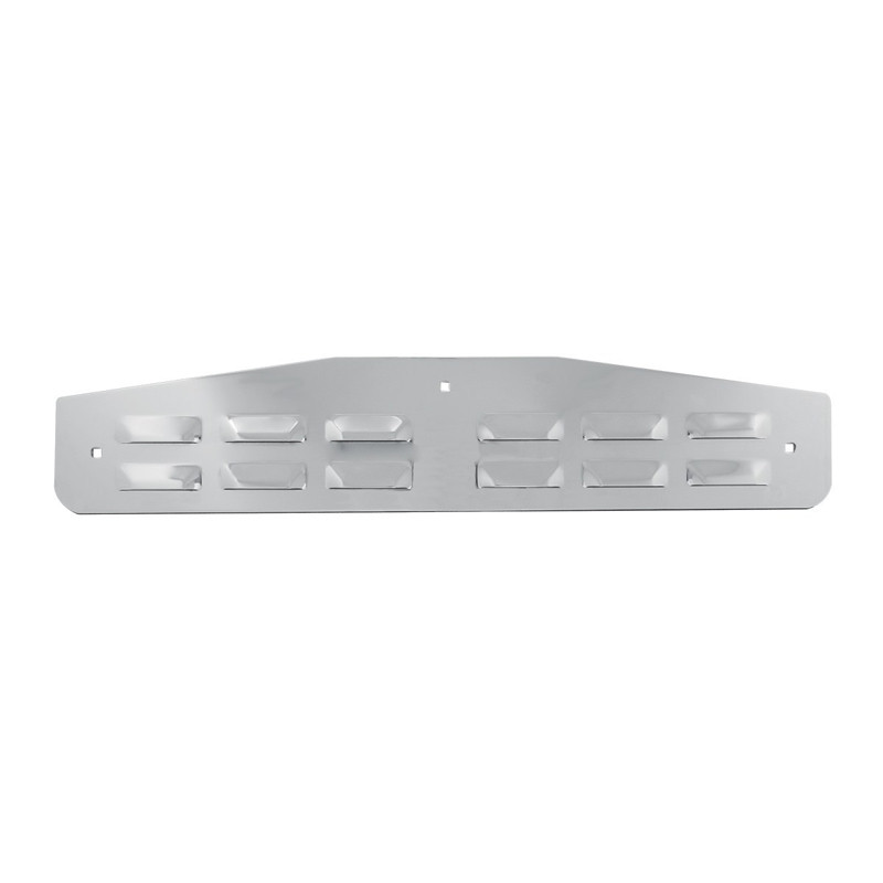 Bottom Mud Flap Plate - Louvered By Grand General