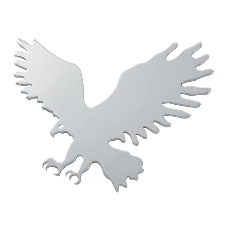 Chrome Eagle Cutout Facing Left