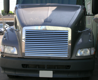 Volvo VNL 610 630 660 Louvered Grill Front View