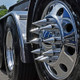 Front Axle Wheel Cover With Hubcap & Lug Nut Covers - The Gladiator Angle 3