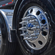 Front Axle Wheel Cover With Hubcap & Lug Nut Covers - The Gladiator Angle 2