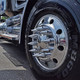 Front Axle Wheel Cover With Hubcap & Lug Nut Covers - The Gladiator Angle 1