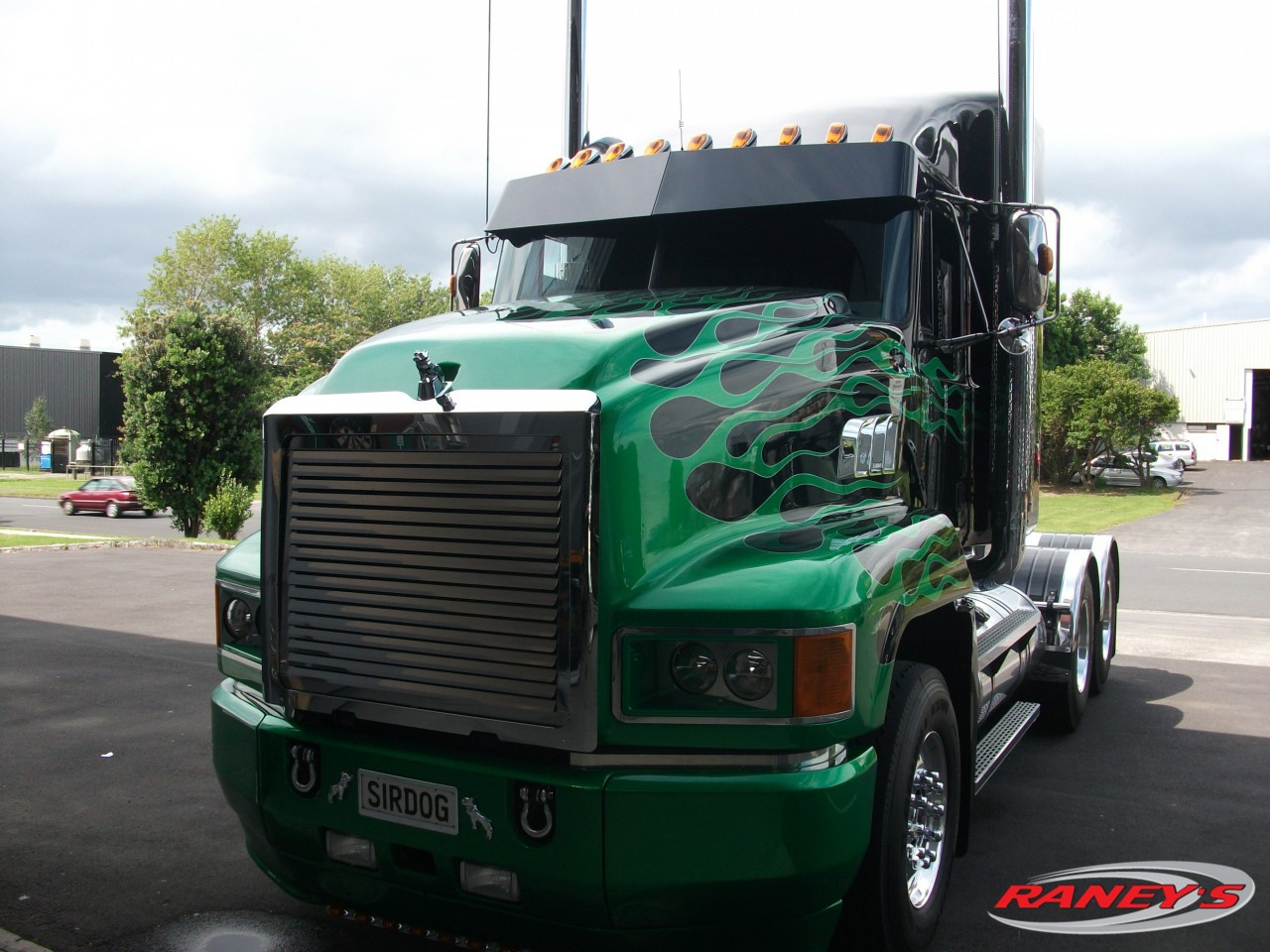 Mack Truck Ch613 Wiring Only Diagram 2000 Ch Louvered Grille Replacement Raneys Parts 1999