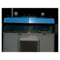 Kenworth K100E Visor Stainless Steel Drop Style