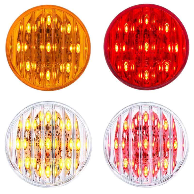 "9 LED 2"" Clearance Marker Light Flat - Default"