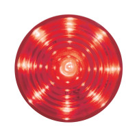 "Lit 9 LED 2"" Roadster Red Clearance Marker Light"