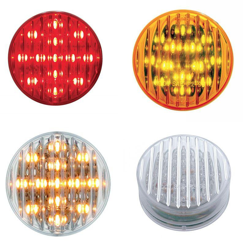 "2 1/2"" Round LED Clearance Marker Light"