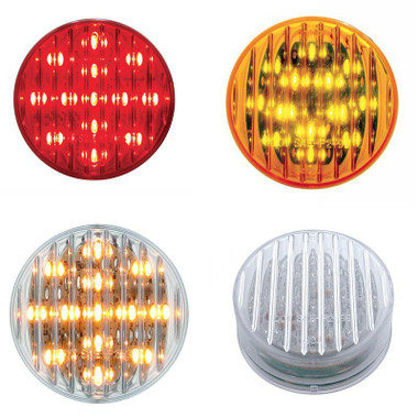 2 1 2 Quot Round Flat Led Clearance Marker Light Raney S