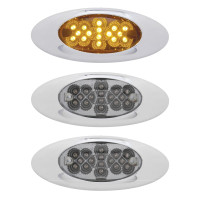 16 LED Phantom I Clearance Marker Light With Reflectors