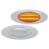 12 LED Phantom I Clearance Marker Light Amber & Clear Lens