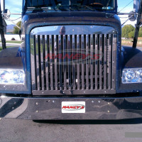 Freightliner FLD 112 Grill With 17 Vertical Bars 1990 & Newer