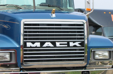 mack ch grill surround stainless steel raney u0026 39 s truck parts