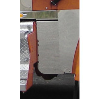 Kenworth W900L Blank Hood Hood Extension Panels On Truck