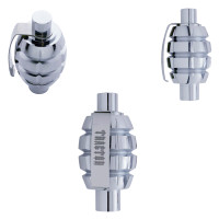 Chrome Grenade Air Valve Knob Tractor