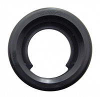 "Rubber Grommets Black 2"" Round"