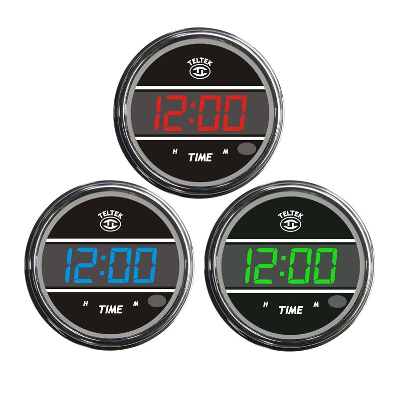 Clock Truck TELTEK Gauge Color Display Option