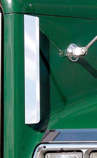 Freightliner FLD Side Hood Grill Deflectors