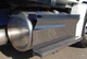 Cascadia Passenger Fuel Tank Cover with Steps On Truck