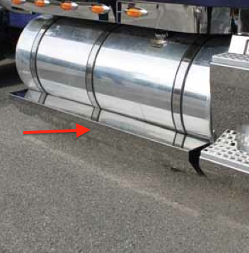 Volvo Stainless Steel 68 Quot Fuel Tank Fairings By Valley