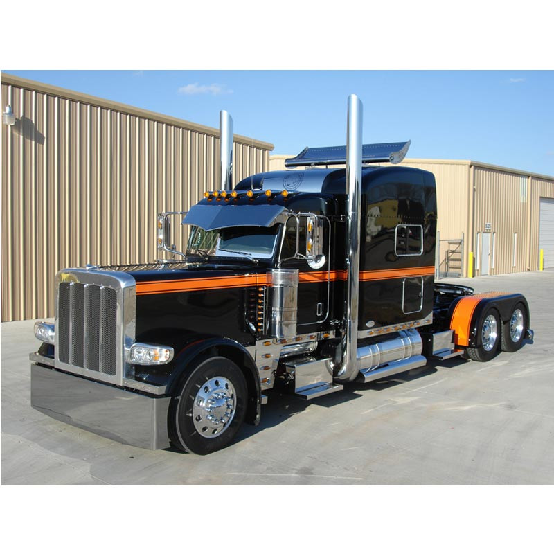 Peterbilt Turbo Wing For High Roof Stand Up Standard And