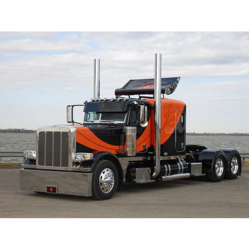 Peterbilt Turbo Wing for Standard Flat Top Sleepers Various Sizes