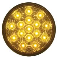 "16 LED 4"" Round PTC Lights - Reflector"