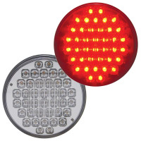 "40 LED 4"" Round STT Light - Reflector"