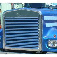 Kenworth W900A Grille Replacement with Louvered Bars