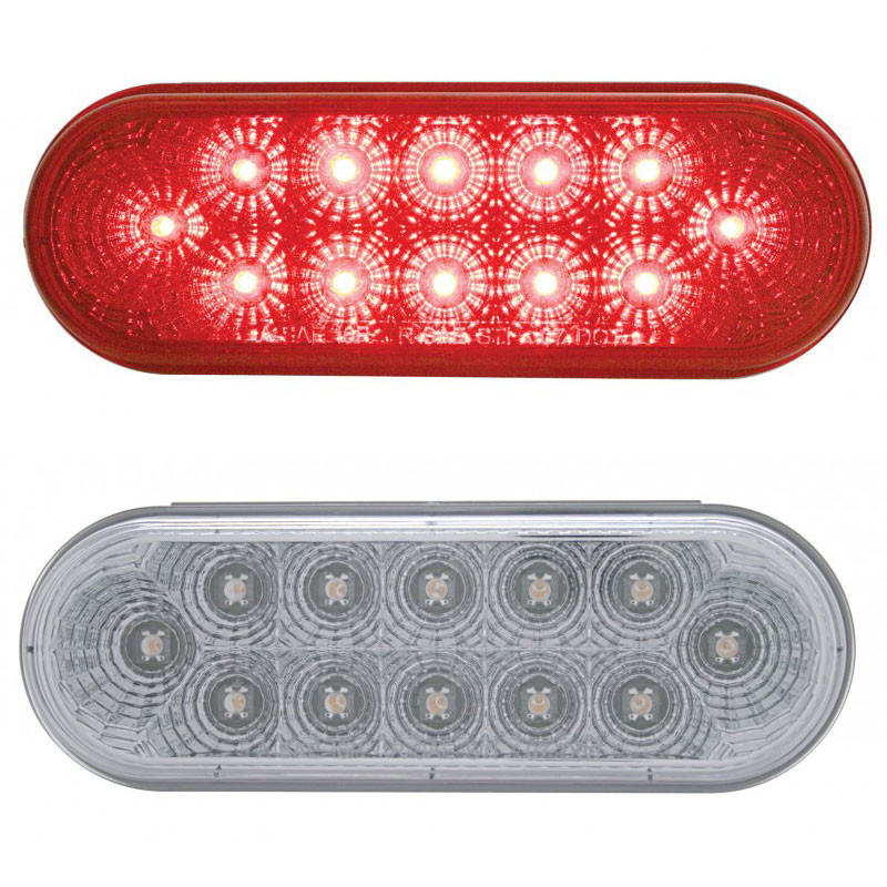 12 LED Oval STT Lights