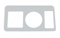 Kenworth 2006+ Stainless Steel Key Dash Panel Trim By RoadWorks