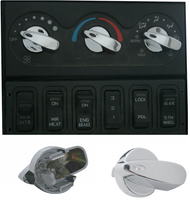 International 2005 and  Newer Chrome AC Control Knob