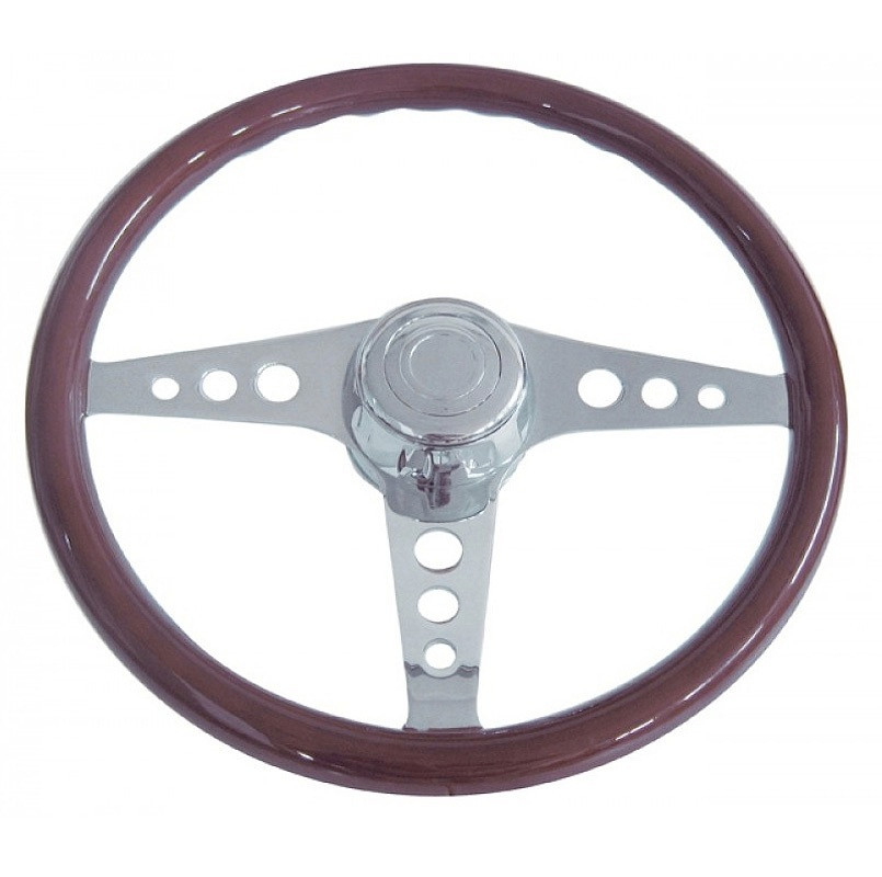 "18"" Chrome GT Steering Wheel"