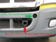 Freightliner Cascadia ProTec Grill Guard (Tow Hooks)