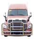 Freightliner Cascadia ProTec Grill Guard (Stainless Steel, Installed)
