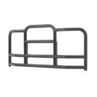 Kenworth T600A 1988-2007 ProTec Grill Guard (Black Steel, 25° Angle)