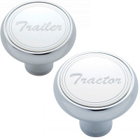 Deluxe Air Valve Knobs-Stainless Plaque With Cursive Script 