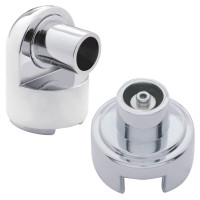 "Chrome 15/16"" Gearshift Mounting Adaptors"