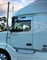 "Volvo VNL Series 6"" Chop Top Stainless 2004 & Newer"