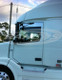 "Volvo VNL Series 5"" Chop Top Stainless 2004 & Newer"
