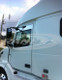 "Volvo VNL Series 5"" Chop Top Stainless 2004 & Newer Angled"