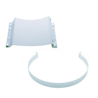 """Peterbilt 15"""" Stainless Steel Air Cleaner Mounting Kit"""
