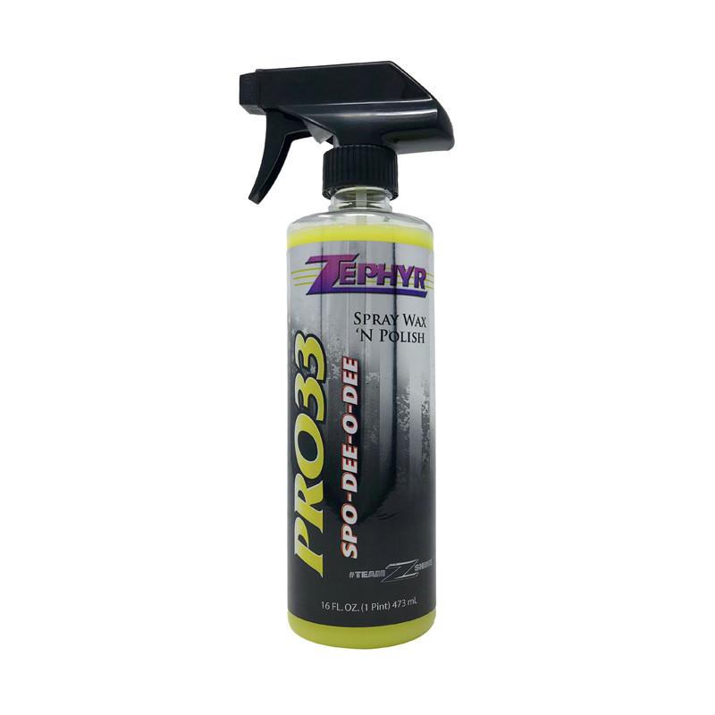 Zephyr Spo-Dee-O-Dee Spray Wax 'N Polish 16oz