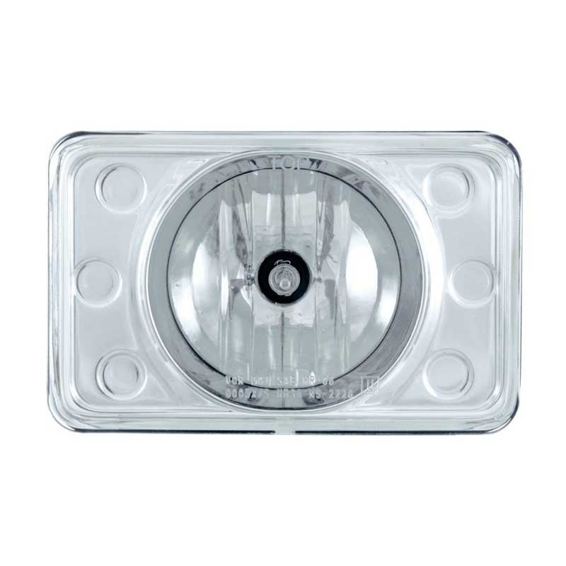 Crystal Projection High Beam Headlights 165mm Front View