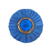 Zephyr Blue Baron Clear Dip Heavy Cutting Airway Buffing Wheel