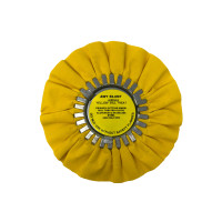 Zephyr Yellow Medium Heavy Cutting Airway Buffing Wheel 8