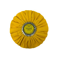 Yellow 20ply Medium Heavy Cutting Airway Buffing Wheel Yellow