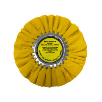 Zephyr Yellow #4 Medium Heavy Cutting Airway Buffing Wheel