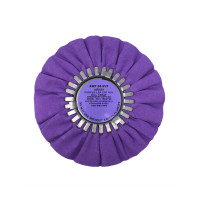 Zephyr Purple-Lea Medium Light Cutting Airway Buffing Wheel 8
