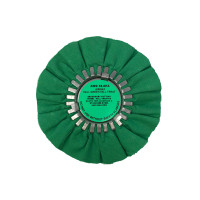 Hall Green Medium Light Cutting Airway Buffing Wheel 8""