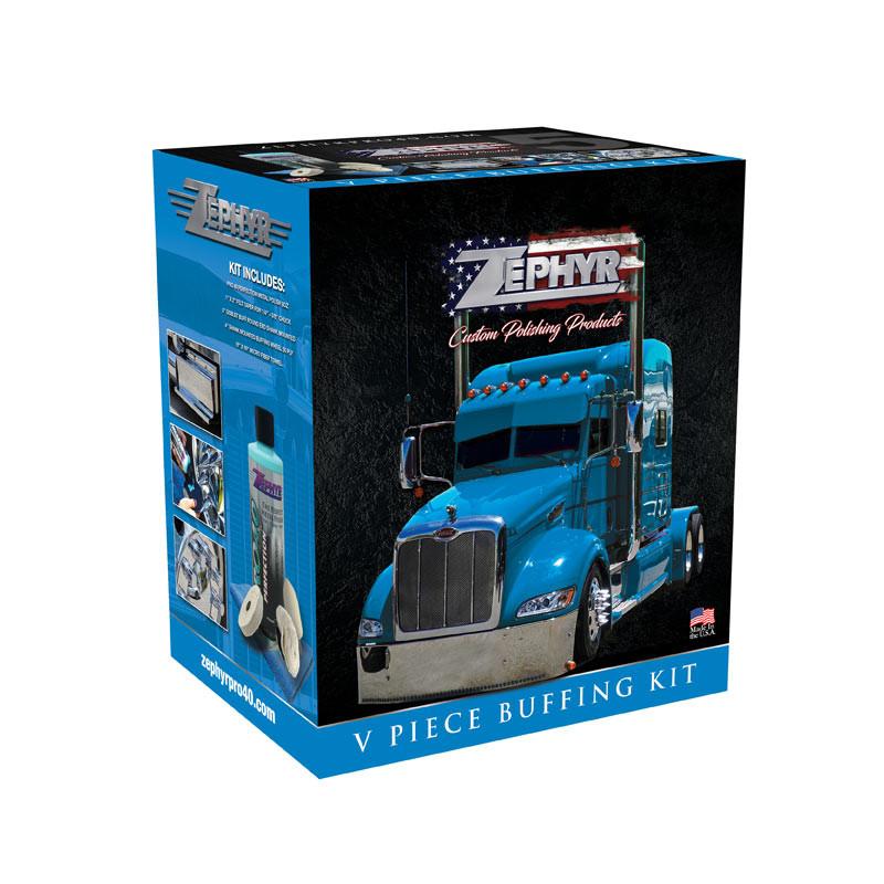 Zephyr 5 Piece Buffing Kit